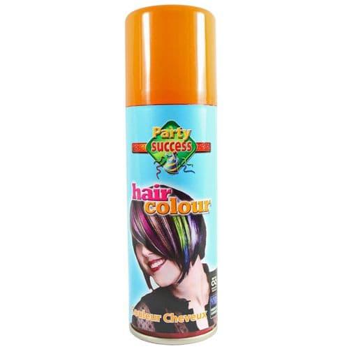 Temporary Hair Colour Hairspray Party Success - Orange